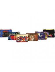 Canvas Corp Cosmetic Bag Zipper Top Assortment, 9 by 1 by 6-Inch, Horse Designs (Styles may Vary)