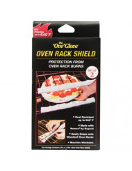 The Official Ove Glove Oven Rack Shield, Heat Resistant Up to 540 Farenheit, Reusable and easy to clean, (2 Count)
