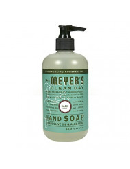 Mrs. Meyer's Hand Soap, Basil, 12.5 Fluid Ounce (Pack of 3)