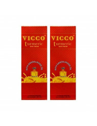 Vicco Turmeric Skin Cream with Sandalwood Oil -70g X 2 Pack
