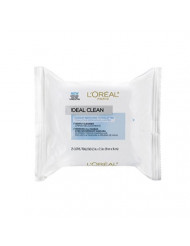 L'Oreal Paris Ideal Clean Makeup Removing Towlettes, 25 ct.