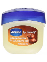 Vaseline Lip Therapy Cocoa Butter 0.25 oz. Jar (Display of 8)