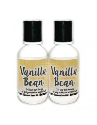 The Lotion Company 24 Hour Skin Therapy Lotion, Vanilla Bean, 2 Count