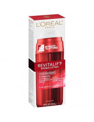L'Oreal Revitalift Double Lifting Face Treatment, Anti Wrinkle Cream & Lifting Gel 1 oz (Pack of 2)