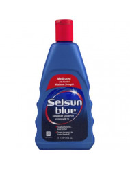 Selsun Blue Dandruff Shampoo Medicated with Menthol Maximum Strength