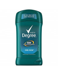 Degree Men Dry Protection Antiperspirant, Cool Rush 2.7 Oz (Pack of 3) - Packaging May Vary