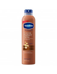 Vaseline Spray and Go Moisturizer in Cocoa Radiant, 6.5 Ounce, 2 Pack