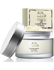 Aya Natural Body Butter for Stretch Marks - Moisturizer Cream Skin Care Therapy with Shea Butter, Cocoa, Coconut, Jojoba, Olive & Almond