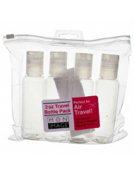 Ecotools, Bottle Travel Translucent Assorted Pack, 1 Count