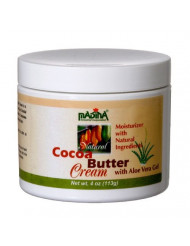 Madina Natural Cocoa Butter Face Cream - Moisturizer with Aloe Vera Gel
