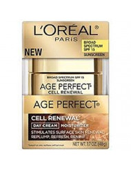 L'Oreal Age Perfect Cell Renewal Day Cream with SPF, 1.7-oz