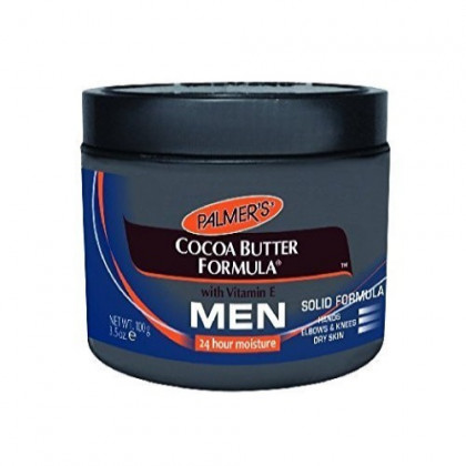 Palmer's Cocoa Butter Solid Formula Skin Care Product for Men, 4.4 Ounce Jar