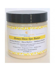 Best Honey Shea Spa Butter - Natural Moisturizing Cream - Shea Butter - Babassu Butter - Manuka Honey - Argan Oil - Almond Oil - Vitamin E and Vitamin C - Face Body Nourishing Treatment