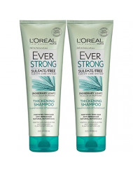 L'Oreal Paris EverStrong Thickening Shampoo 8.5 oz (Pack of 2)