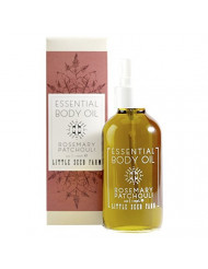Little Seed Farm Essential Body Oil, Rosemary Patchouli, 4.0 Ounce