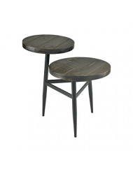Sterling Home Radio Congo accent table, Brown