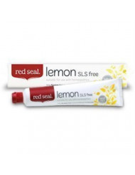Red Seal Natural Lemon SLS Free Toothpaste That's Mint-free (3 Pack)