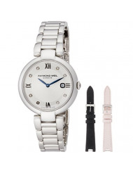 """Ladies' Raymond Weil Shine Repetto """"Etoille"""" Special Edition Interchangeable Diamond Dial Watch 1600-ST-RE695"""