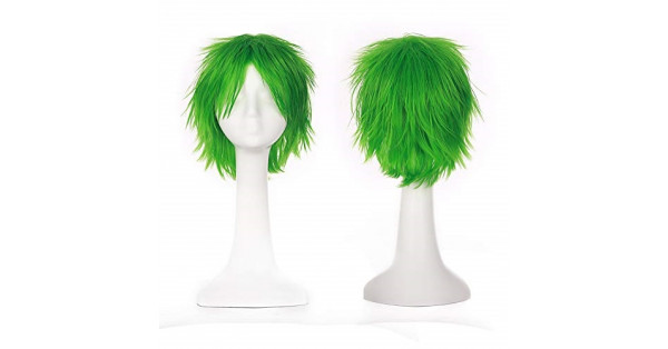 Short Fluffy Cosplay Wig For Women and Men Unisex Costume ...