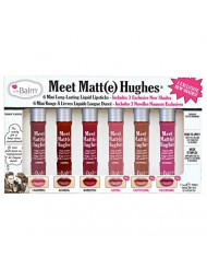 theBalm Meet Matt(e) Hughes 6 Mini Long-Lasting Liquid Lipsticks, Volume 3