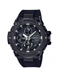 Men's Casio G-Shock G-Steel Black Carbon and Resin Bluetooth Watch GSTB100X-1A
