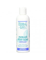 HERBAL GLO Psoriasis & Itchy Scalp Shampoo, 0.02 Pound