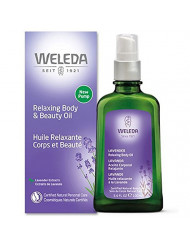 UNKNOWN Lavender body oil weleda 3.4 oz oil, 3 Ounce