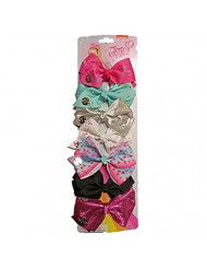 JoJo Siwa Days of the Week 7 Hair Bows, As Shown-1, Size No Size