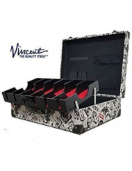Vincent Master Case Travel Stylist Barber Case Nostalgic Series (Vintage White)