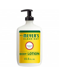 Mrs. Meyer's Clean Day Body Lotion, Honeysuckle Scent, 15.5 Ounce Bottle