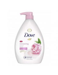 DOVE PURELY PAMPERING REGULAR WASH SOAP BOX RP 34 OZ - 0011111722591