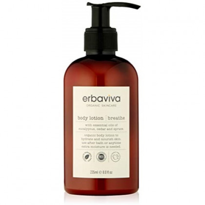 Erbaviva Breathe Body Lotion, 8 Fl Oz