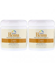 Rainbow Research Persian Copper Hair Henna (Pack of 2) with Lawsonia Inermis, 4 oz.
