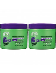Garnier Fructis Style Curl Stretch Loosening Pudding, Naturally Curly Hair, 4 oz. (Packaging May Vary), 2 Count
