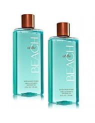 Bath and Body Works 2 Pack At the Beach Shower Gel 10 Oz.