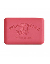 Pre' De Provence Artisanal French Soap Bar Enriched With Shea Butter, Cashmere Woods, 250 Gram