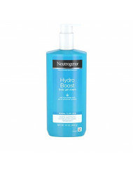 Neutrogena Hydro Boost Hydrating Body Gel Cream with Hyaluronic Acid, Non-Greasy and Fast Absorbing Cream for Normal to Dry Skin, Paraben-Free, 16 oz