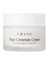 [URANG] Rose Ceramide Cream 50ml, 99.81% natural ingredients