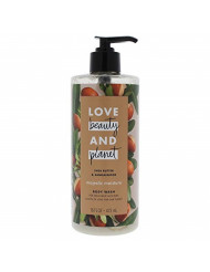 Unilever Love Beauty & Planet Shea Butter & Sandalwood Majestic Moisture Body Wash 16oz, 16 Oz