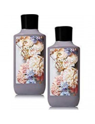 Bath and Body Works 2 Pack Almond Blossom Super Smooth Body Lotion. 8 Oz
