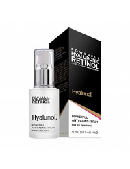 Frulatte Hyalunol Powerful Anti Aging Serum enriched with Retinol & Hyaluronic Acid for All Skin Types 1 fl. Oz.