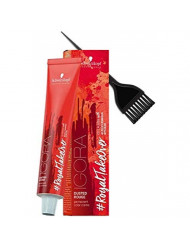 Schwarzkopf IGORA Royal Takeover DUSTED ROUGE Permanent Hair Color Creme (with Sleek Tint Applicator Brush) Haircolor Cream #RoyalTakeover (7-764)