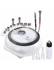 [Upgrade Version] 3 in 1 Diamond Microdermabrasion, Doris Direct Dermabrasion Machine Facial Care Salon Equipment for Personal Home Use (Suction Power: 65-68cmHg)
