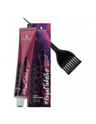 Schwarzkopf IGORA Royal Takeover LUCID NOCTURNES Permanent Hair Color Creme (with Sleek Tint Applicator Brush) Haircolor Cream #RoyalTakeover (6-299)