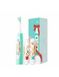 SOOCAS C1 Rechargeable Sonic Electric Toothbrush for Kids, Cordless with 2 Modes Whole Body Washable for 4-12 Years Children