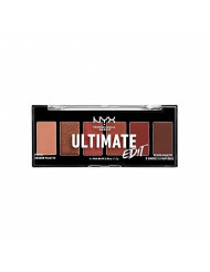 NYX PROFESSIONAL MAKEUP Ultimate Edit Petite Shadow Palette, Warm Neutrals, 0.04 Ounce