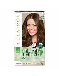 Clairol Natural Instincts Semi-Permanent, 6 Light Brown, 1 Count