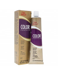Wella Color Perfect Permanent Creme Gel Haircolor 12a Utra Light Ash Blonde for Women, 2 Ounce