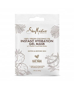 SheaMoisture Instant Hydration Gel Mask - .76oz Pack of 3 (Packaging may vary)
