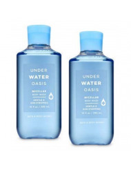 Bath and Body Works 2 Pack Underwater Oasis Micellar Body Wash 10 Oz.